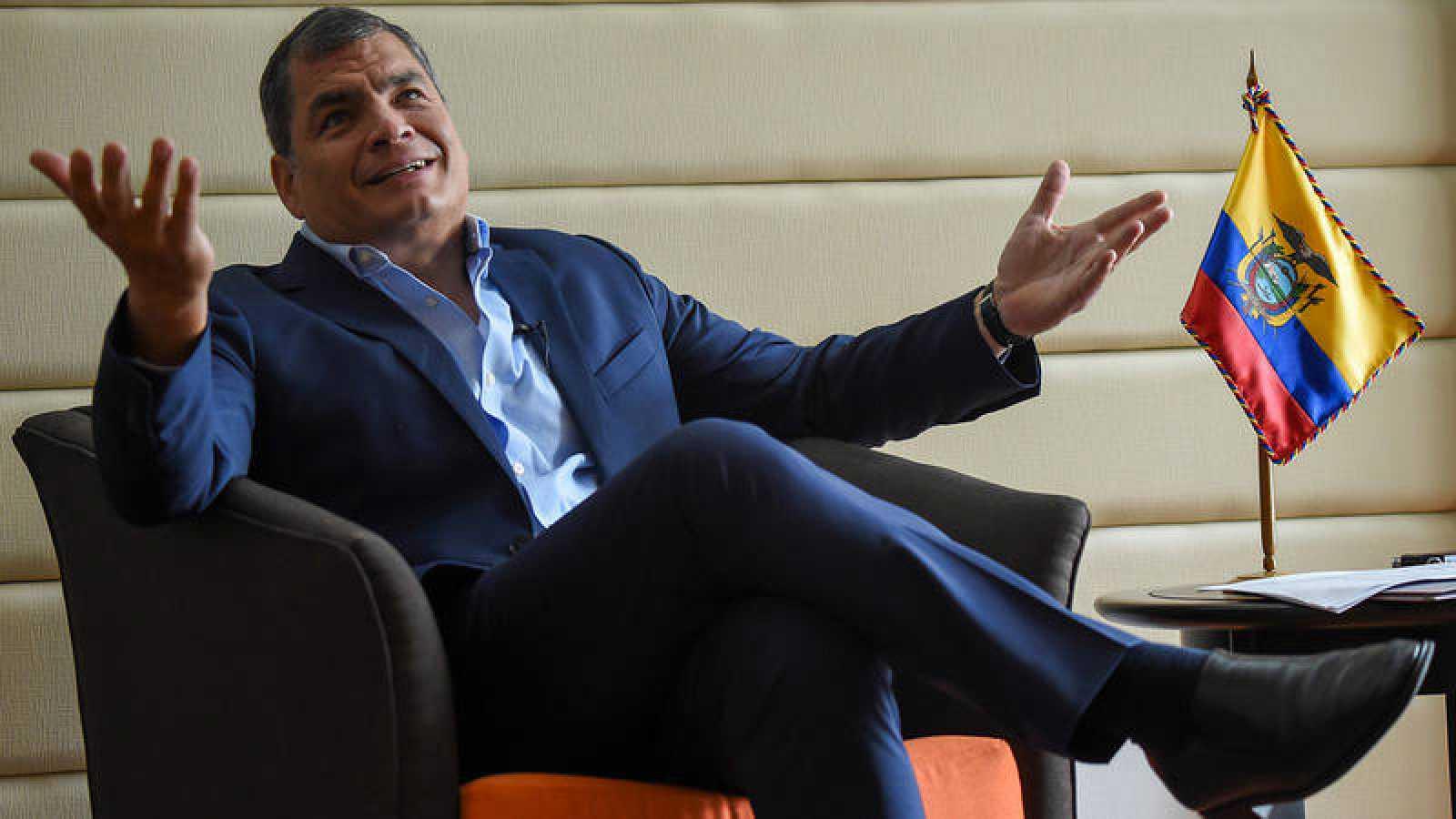 Imagen de archivo del expresidente de Ecuador, Rafael Correa
