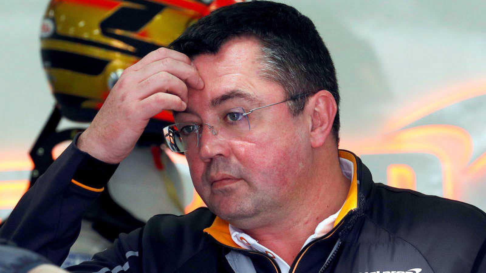 El hasta ahora director deportivo de McLaren, Eric Boullier.