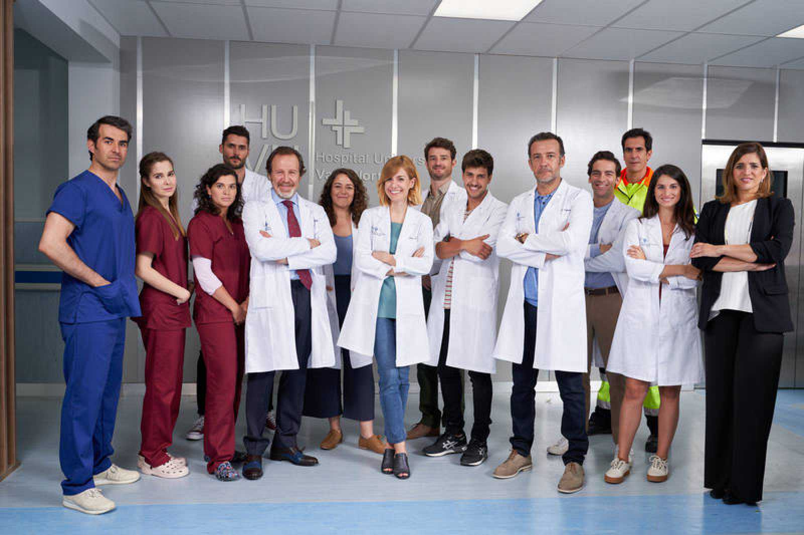 Los protagonistas de 'Hospital Valle Norte'