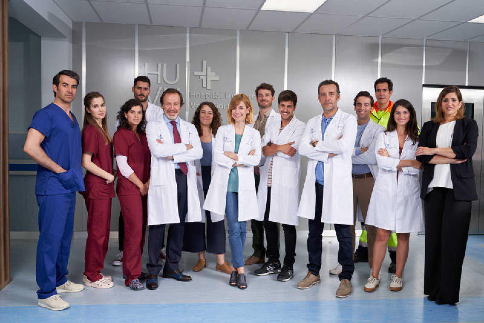 Algunos actores de 'Hospital Valle Norte'