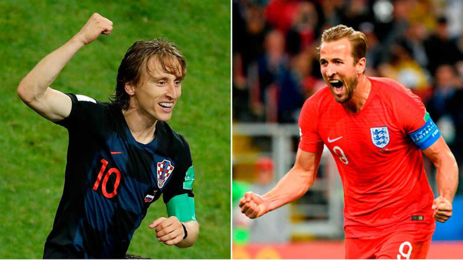Croacia e Inglaterra