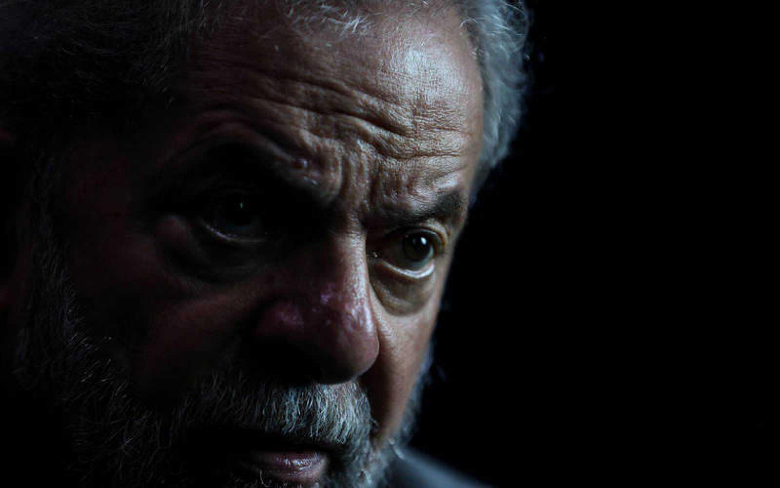 Lula durante una entrevista con Efe en Sao Paulo (Brasil)