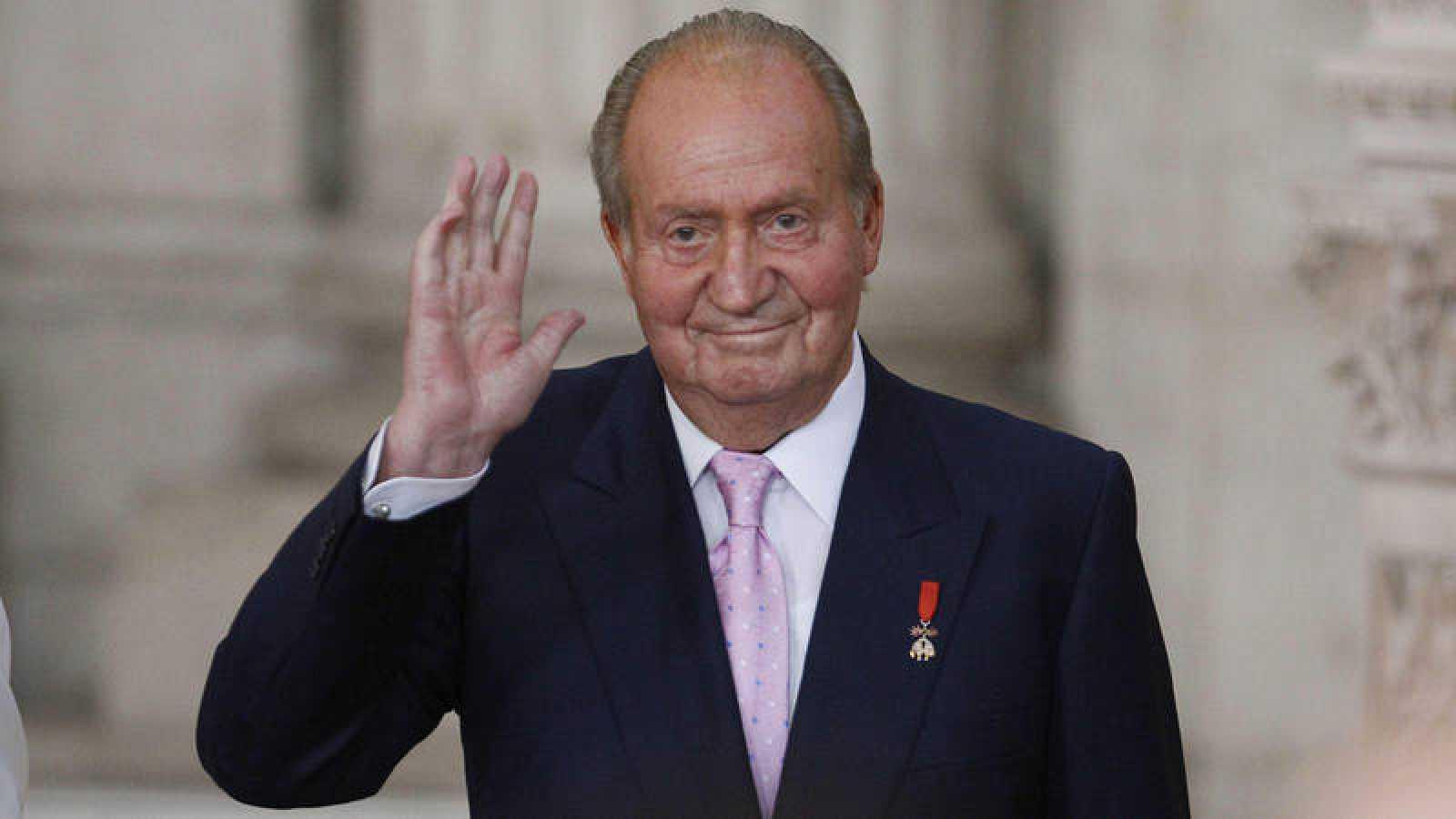 Una imagen de archivo del rey Juan Carlos I