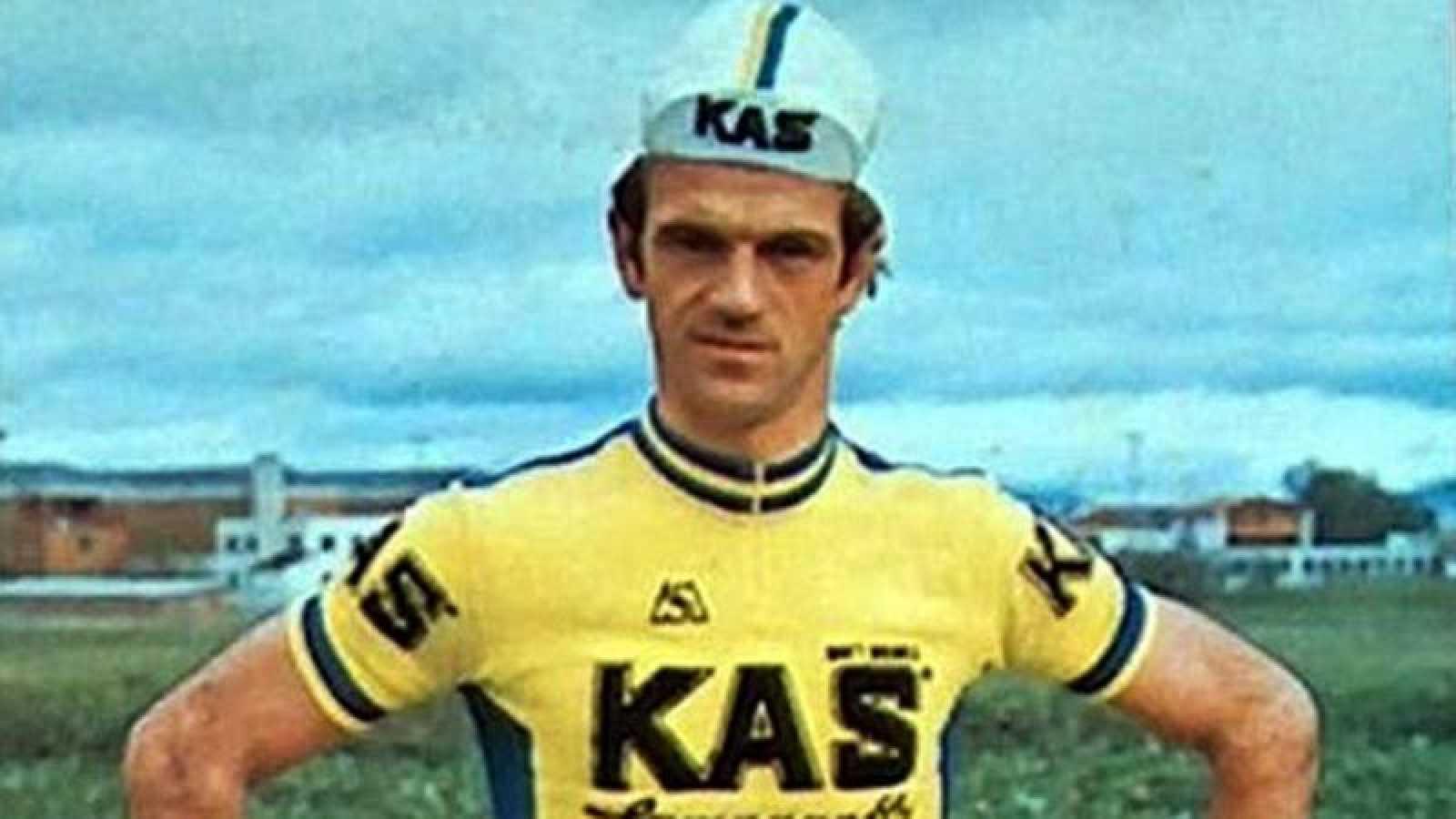 El ciclista Txomin Perurena