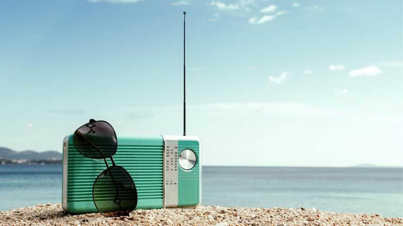 Radio en la playa