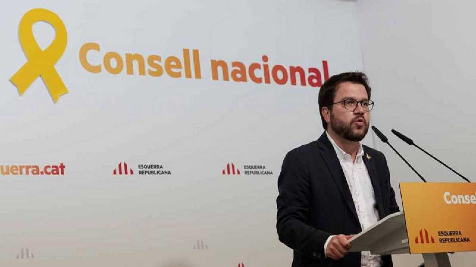 El vicepresidente del Govern y conseller de Economía, Pere Aragonès, avisa por carta a la ministra de Hacienda de que no asistirá al CPFF