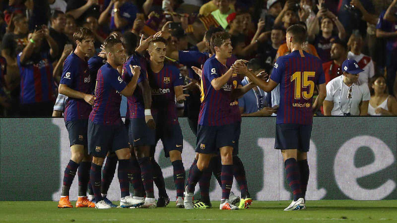 Un Barça con dos caras derrota al Tottenham en la tanda de penaltis