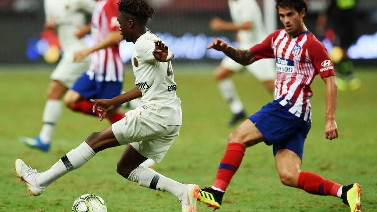 Los canteranos del Atlético se quedan al borde de la remontada ante el PSG