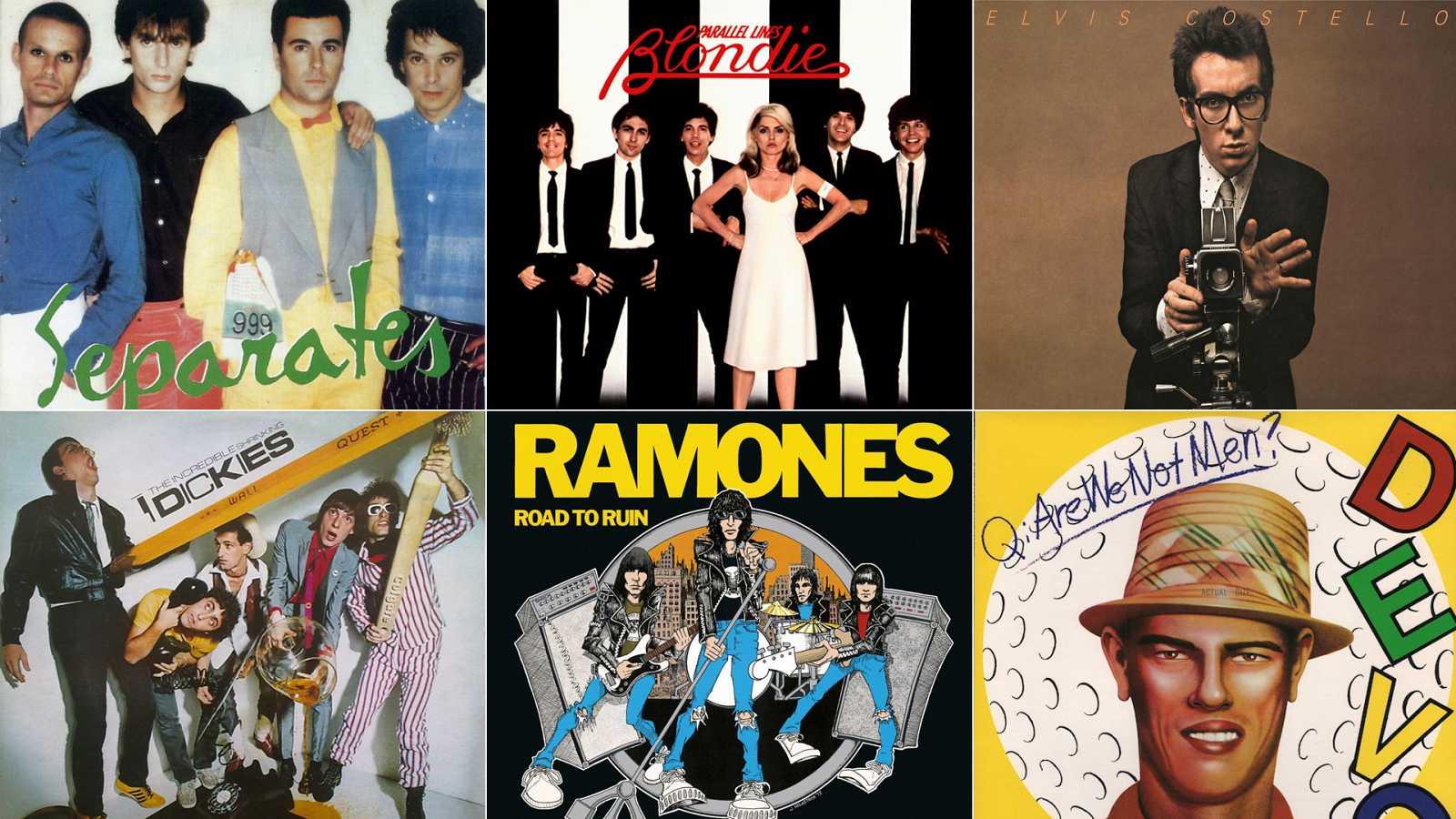 best albums 1978 999 blondie elvis costello dickies ramones devo