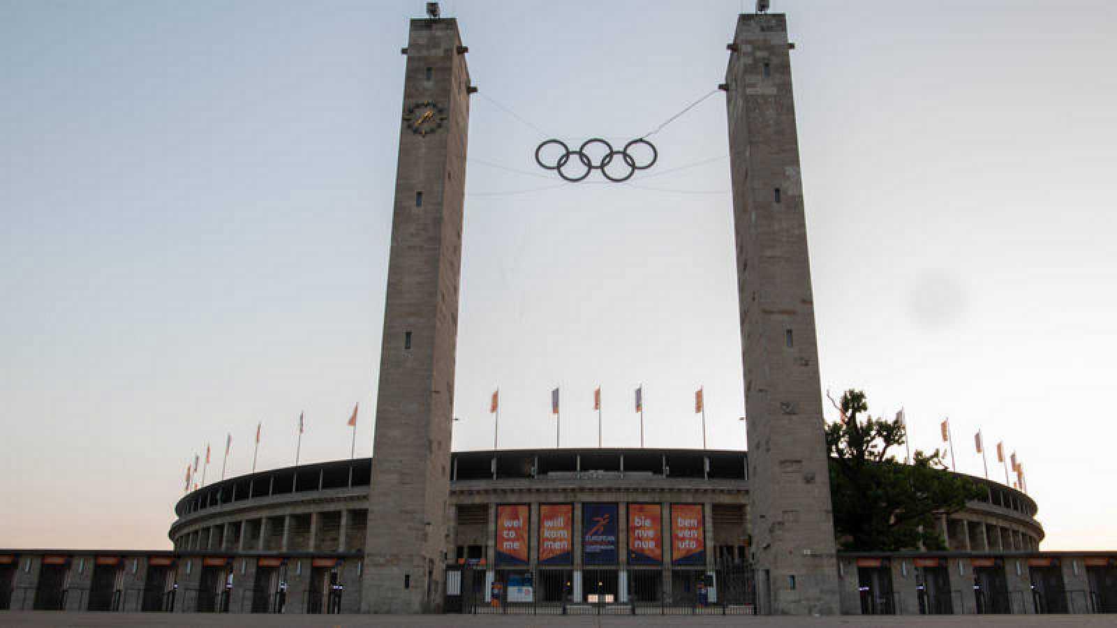 Vista del Estadio Olímpico de Berlín, sede de los Europeos de Atletismo
