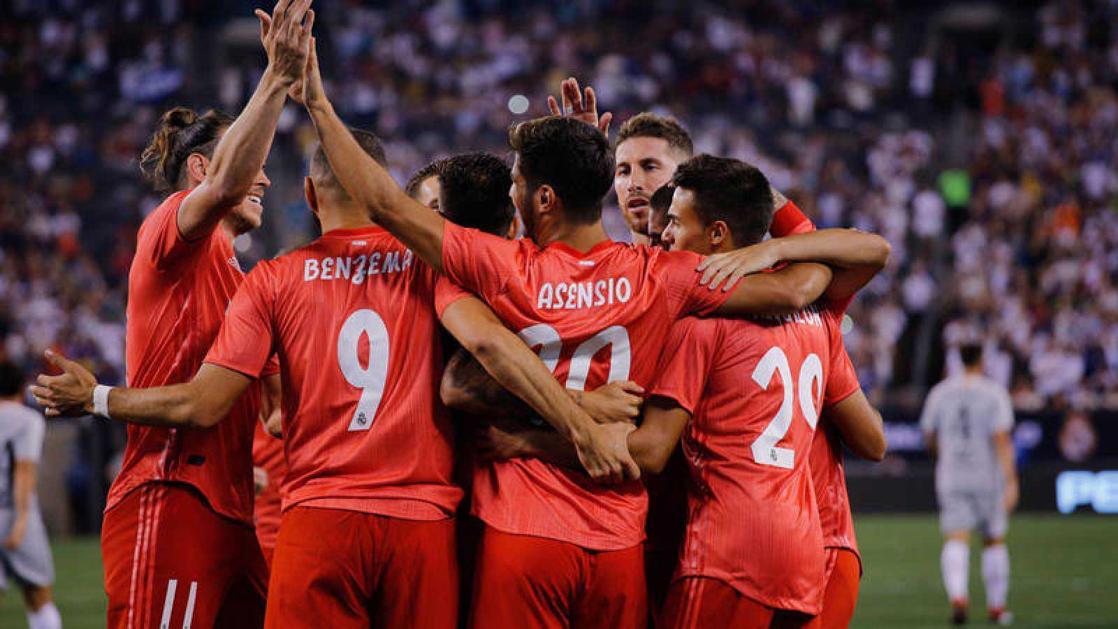 Bale y Asensio guían al Real Madrid ante la Roma