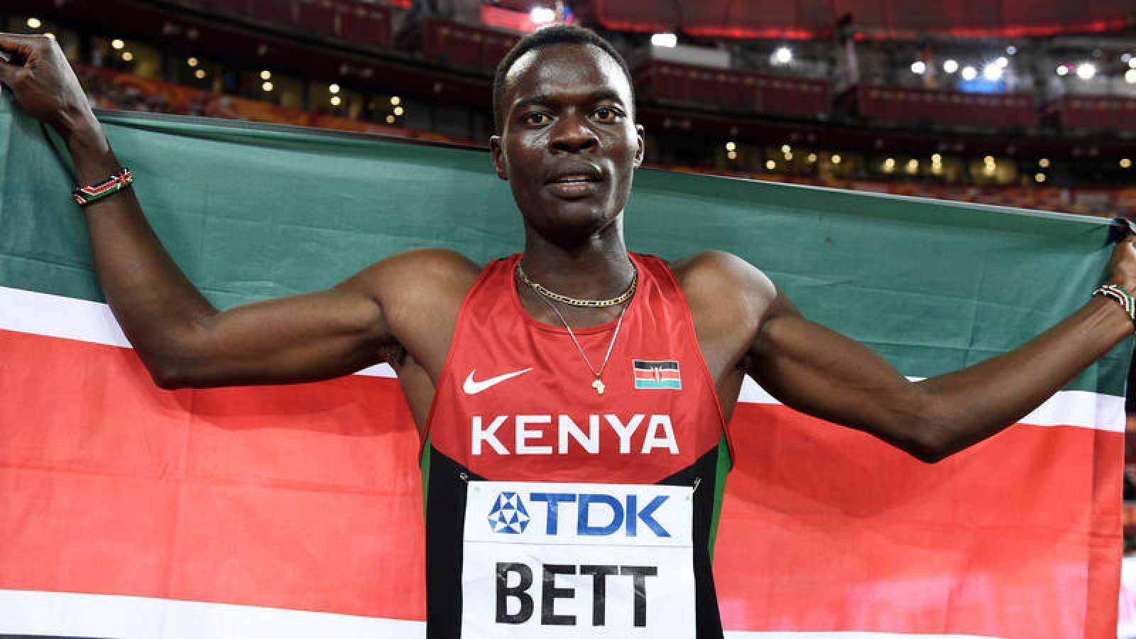 Imagen de archivo del atleta keniano Nicholas Bett.