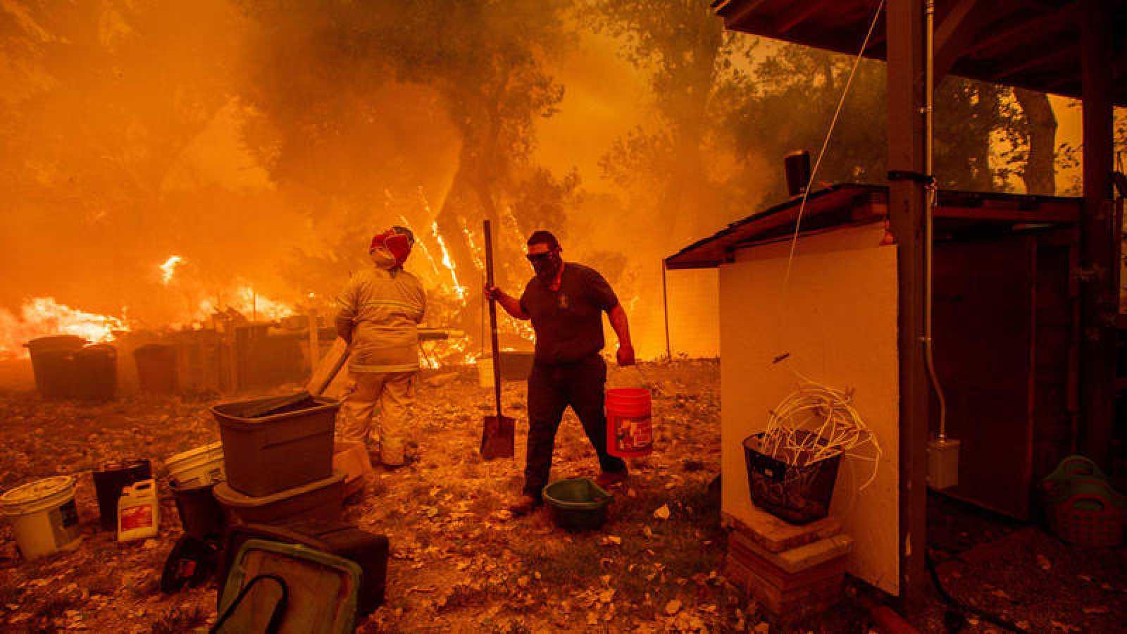 El incendio de Mendocino Complex, en California, es ya el peor de la historia de este estado de EE.UU.