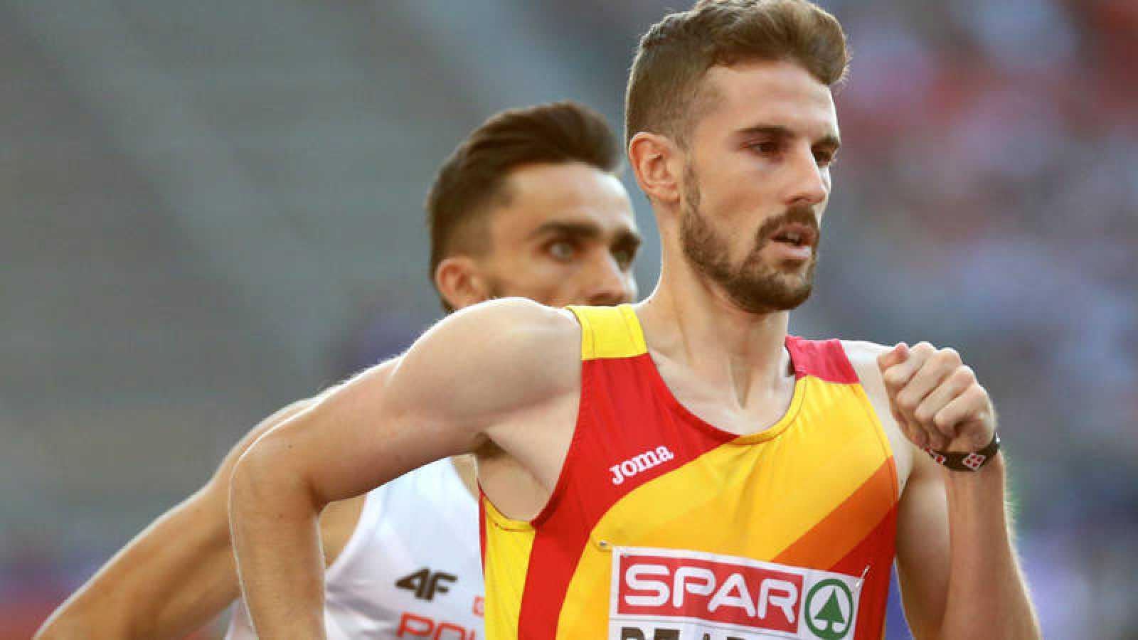El atletia español Álvaro de Arriba.