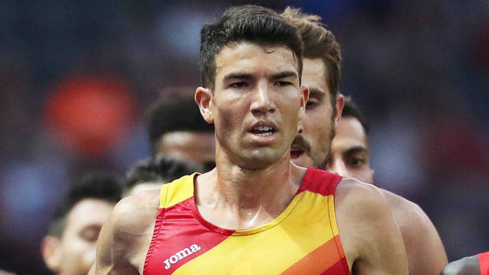 El atleta español Adel Mechaal.