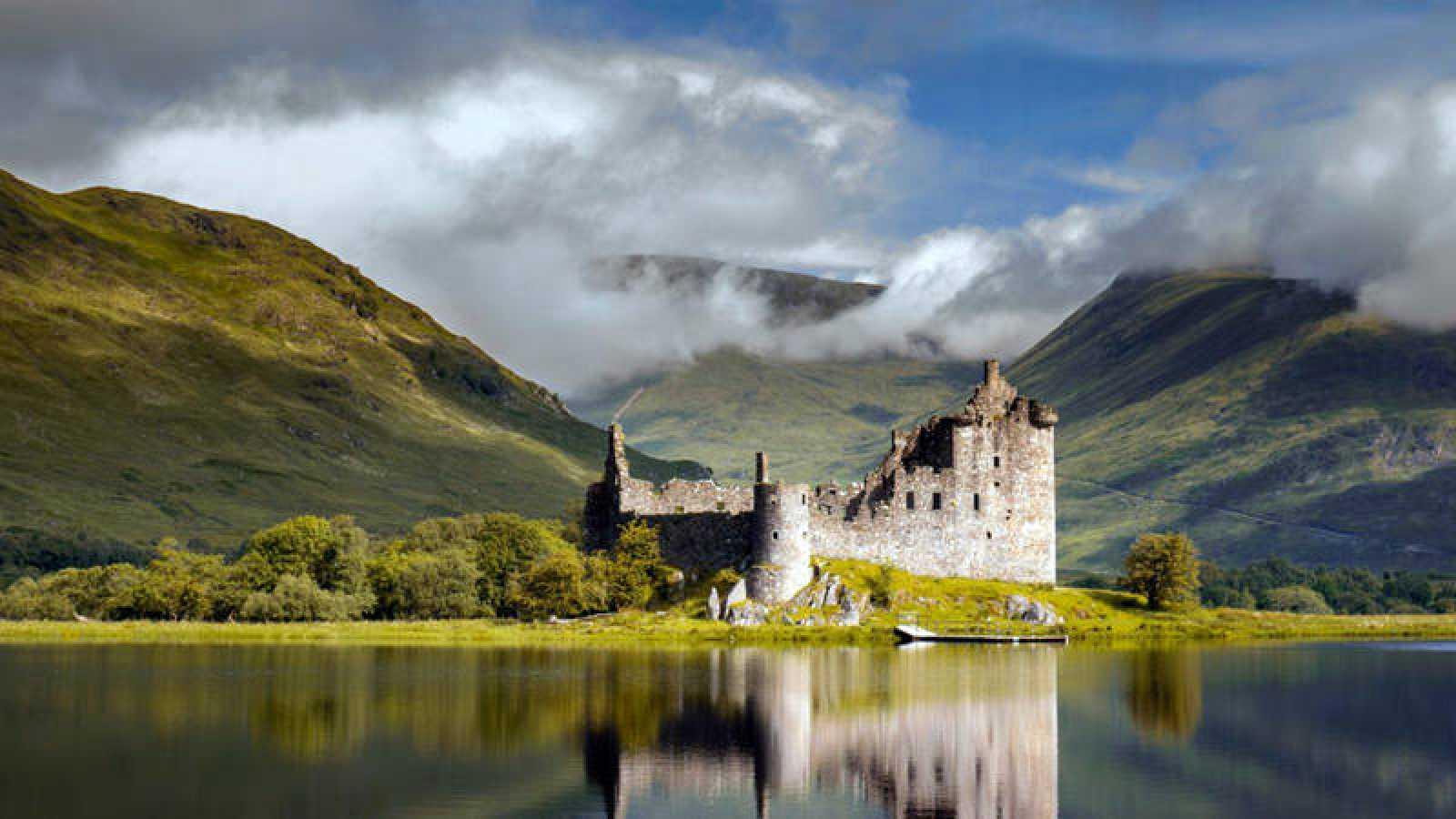 Highlands en Escocia, lugar del Whisky escocés