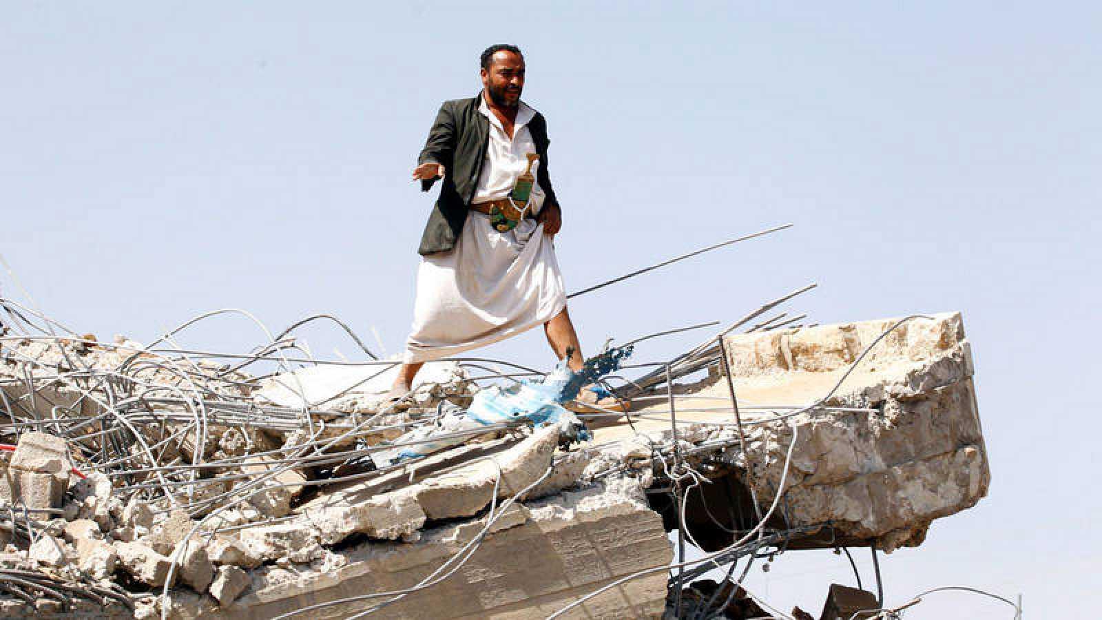 Al menos 20 niños mueren en un supuesto ataque de la coalición árabe en Yemen