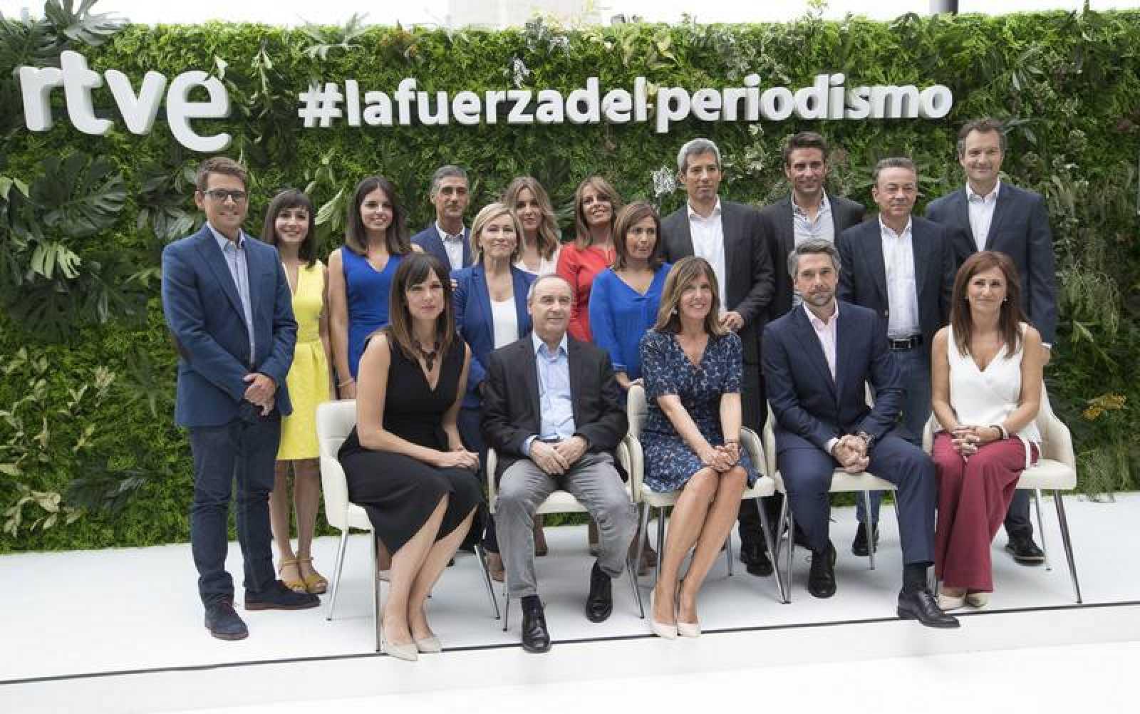 RTVE estrena su nueva temporada de Informativos 2018-19