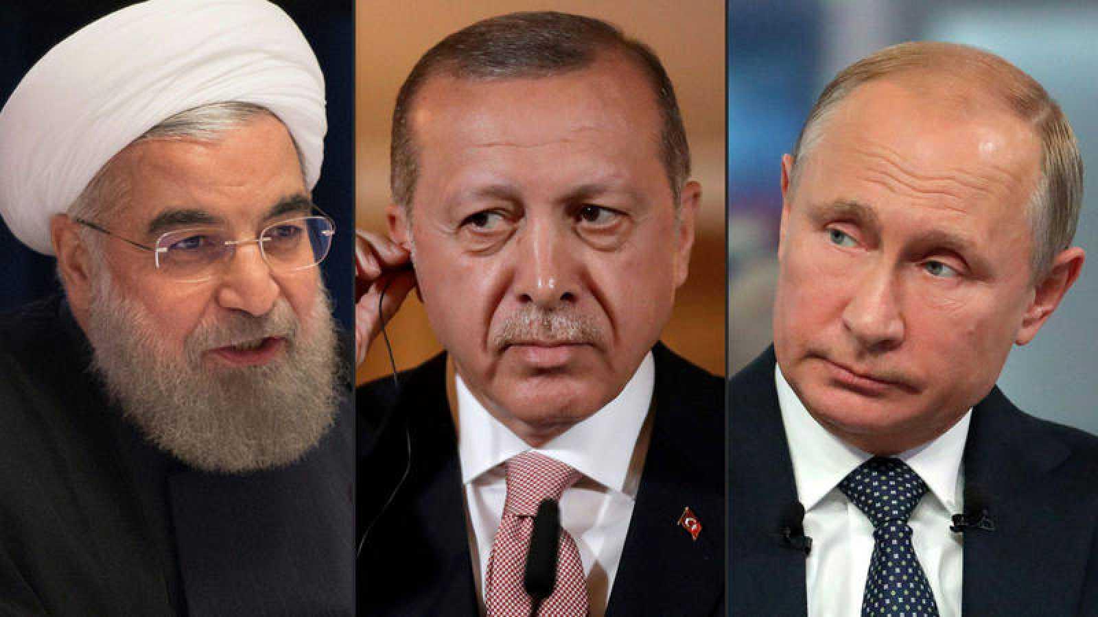 Rusia, Turquía e Irán se reúnen este jueves para debatir sobre Siria