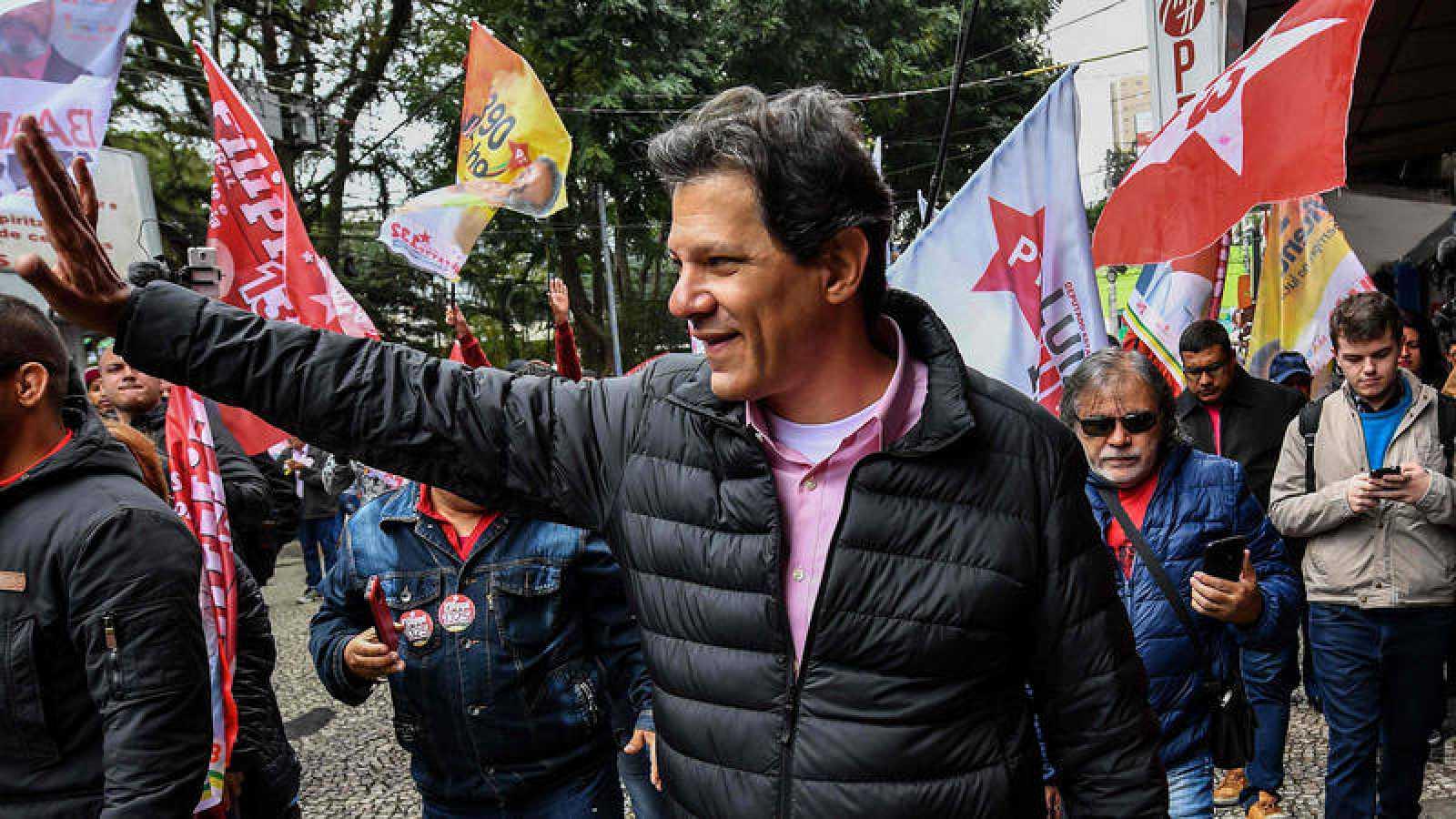 Fernando Haddad, candidato a la vicepresidencia de Brasil por el Partido de los Trabajadores y posible sustituto de Lula