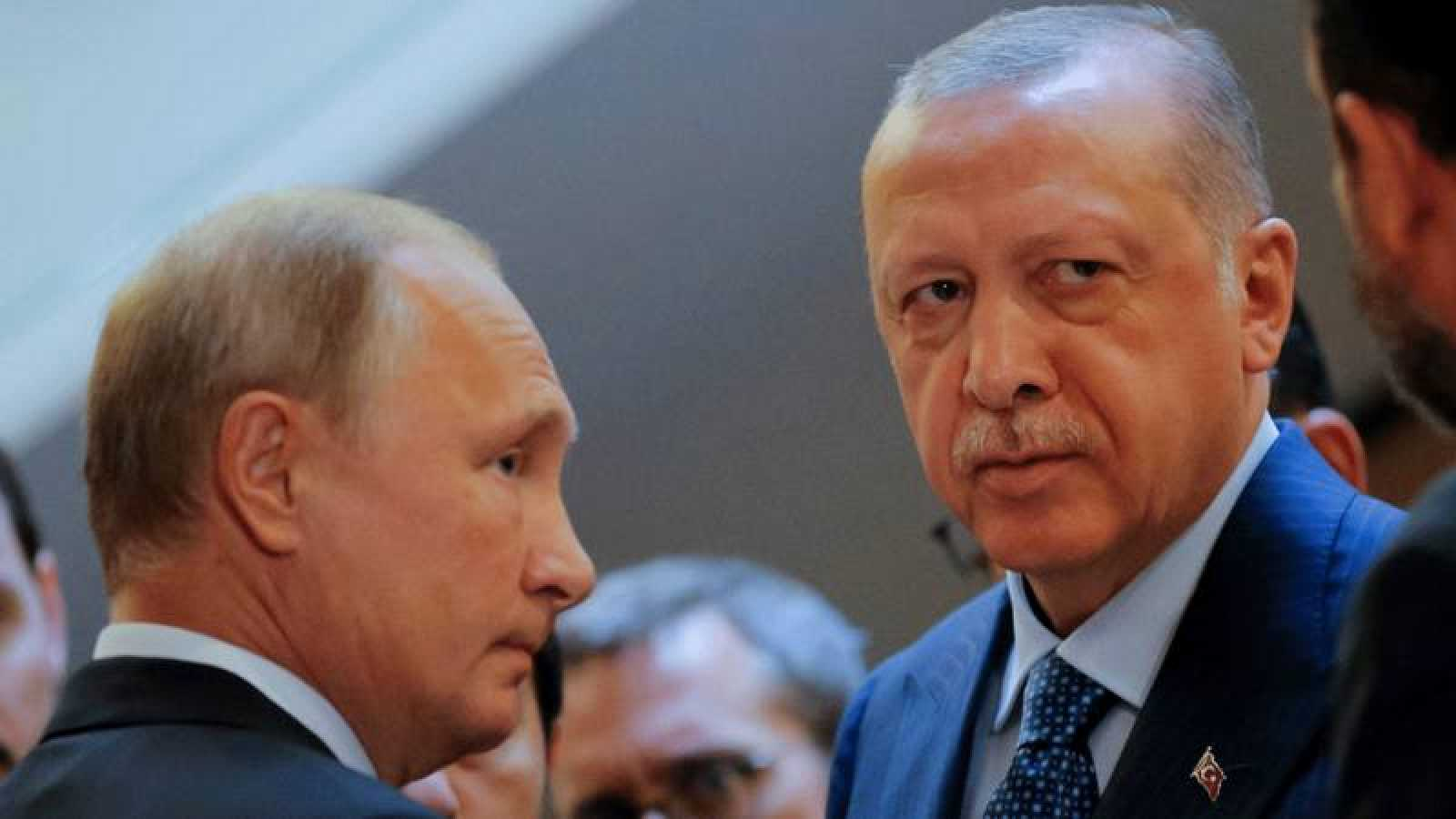 Vladimir Putin y Tayyip Erdogan se reúnen en el balneario ruso Sochi