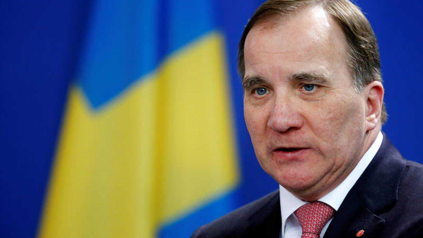 El ex primer ministro sueco, Stefan Löfven