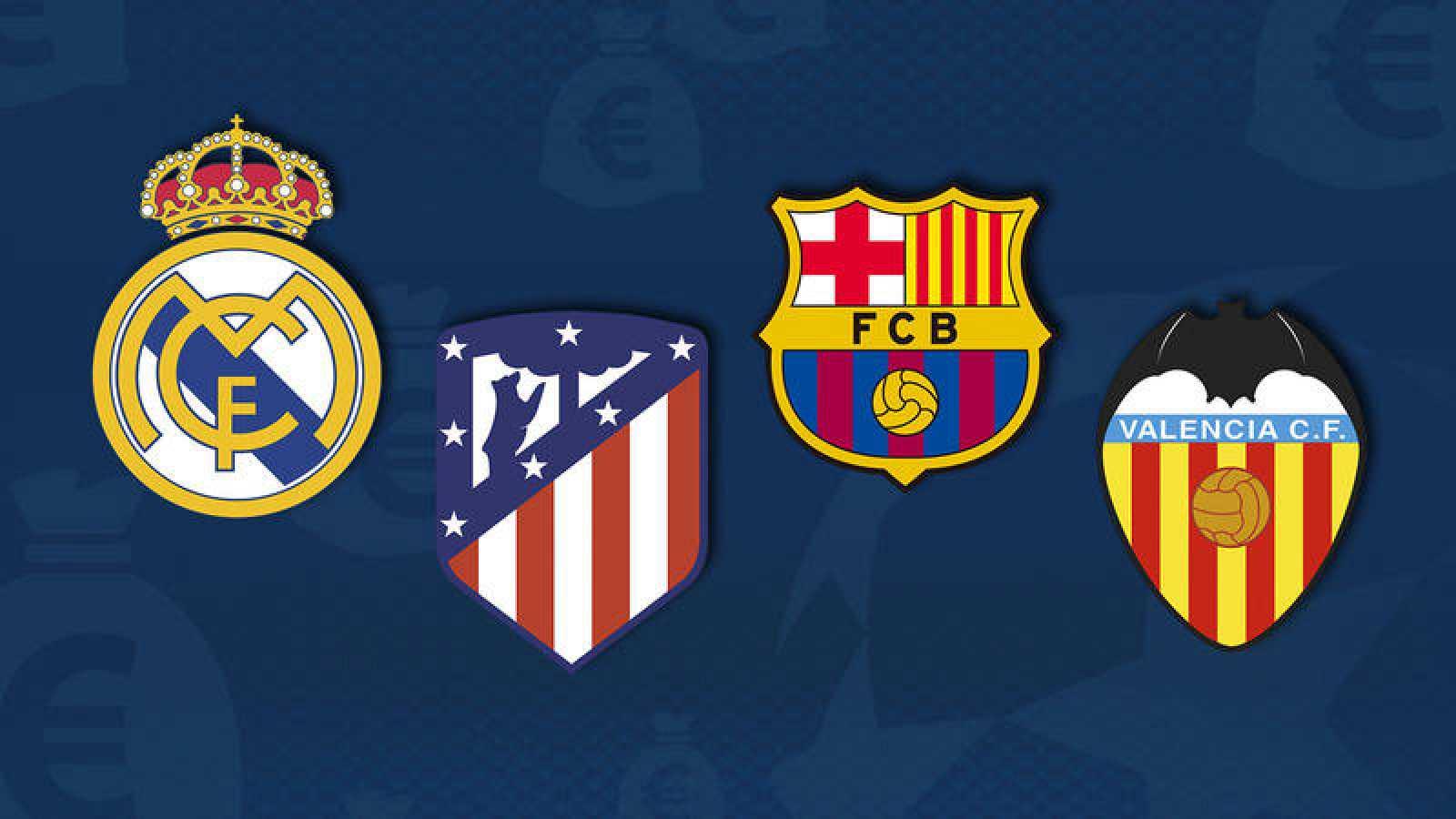 Real Madrid, Atlético, Barcelona y Valencia participan en la Champions 2018-19