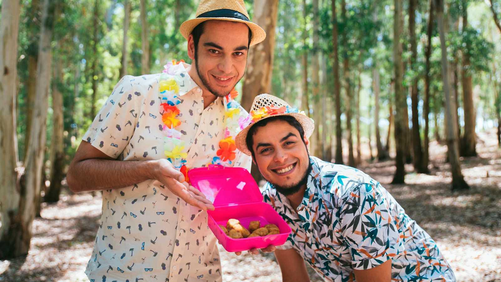 David Sáinz y Aaron Gómez en la segunda temporada de Mambo