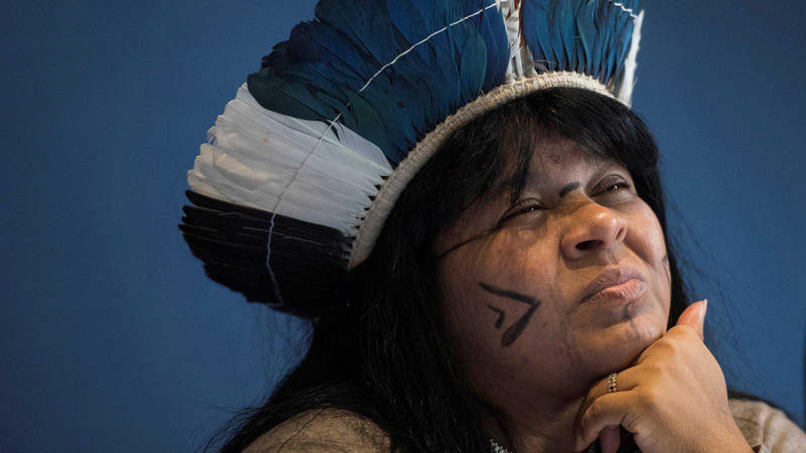 Sonia Guajajara, primera indígena candidata a la vicepresidencia de Brasil