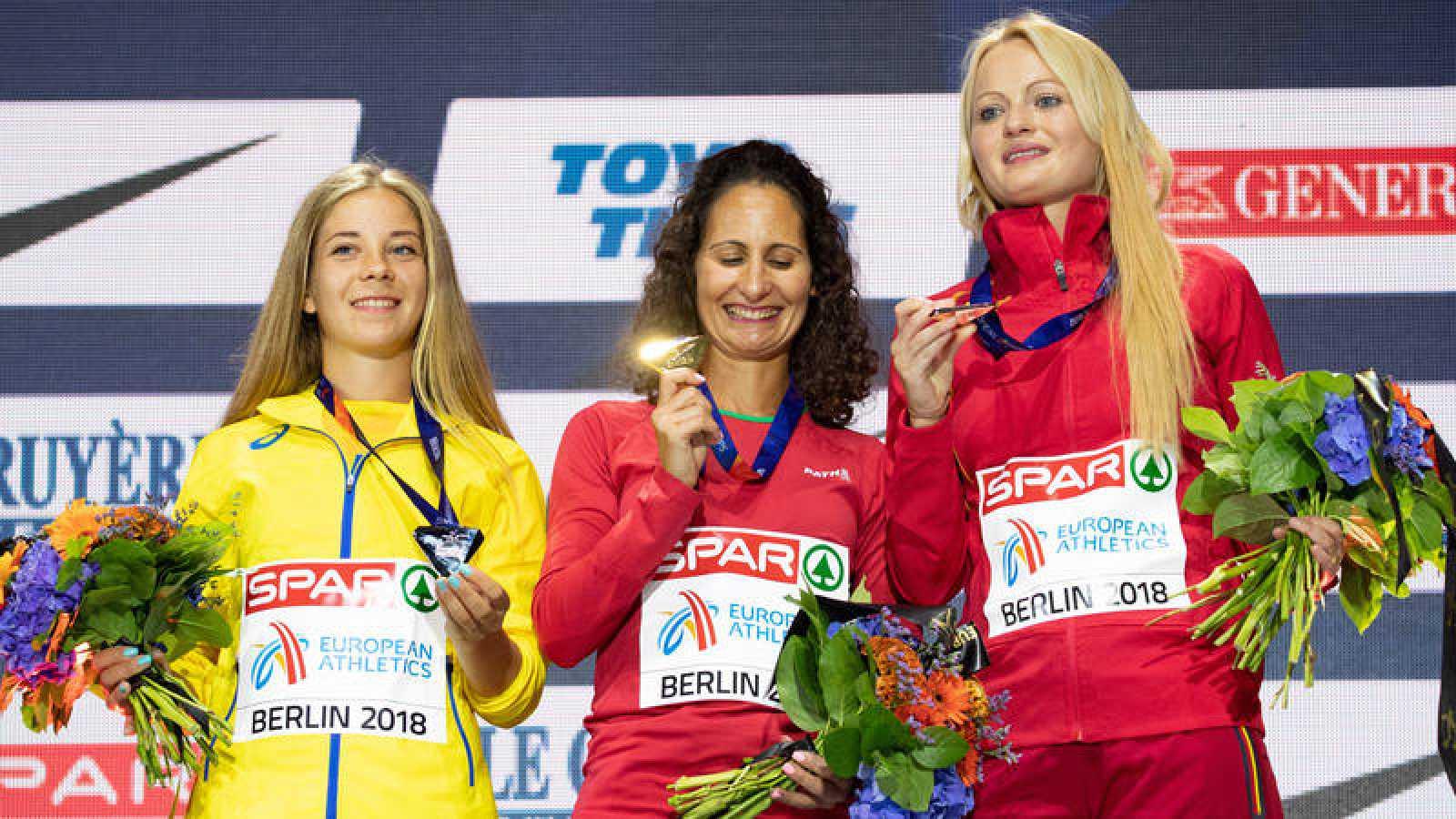 Alina Tsvily, rival de Julia Takacs en el podio de Berlín da positivo por dopaje
