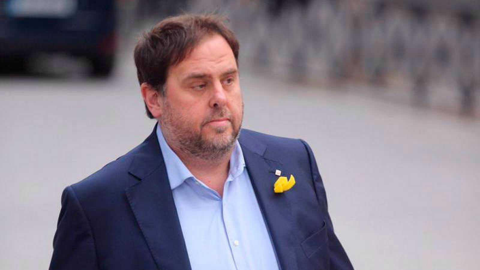 La Fiscalía acusará por rebelión a Junqueras