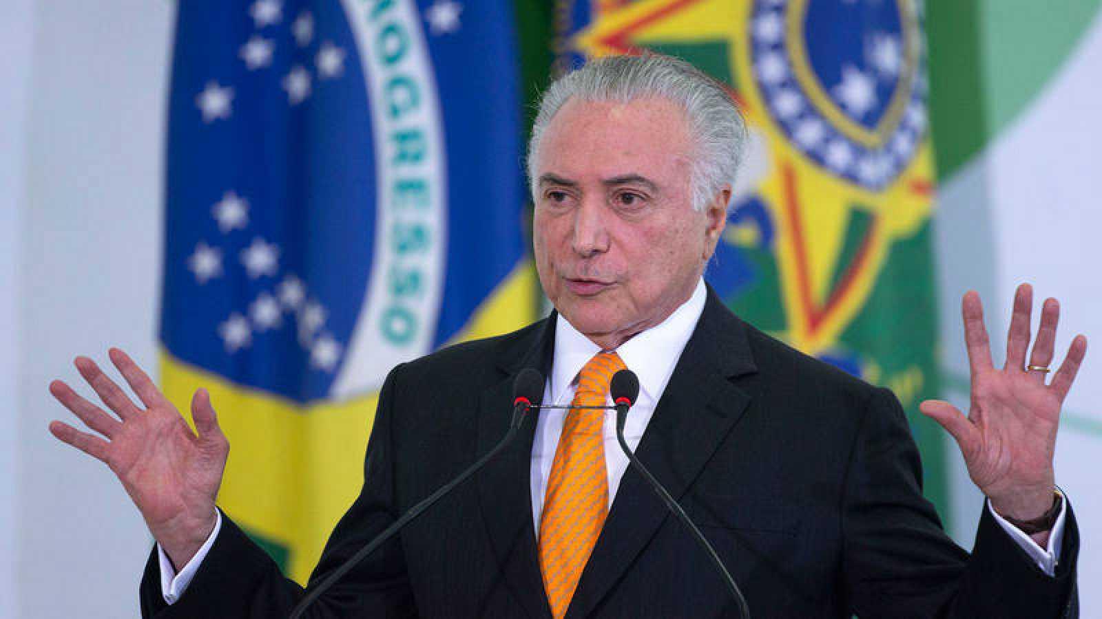 La Policía de Brasil señala al presidente Temer por delitos de asociación para delinquir, corrupción y lavado de dinero