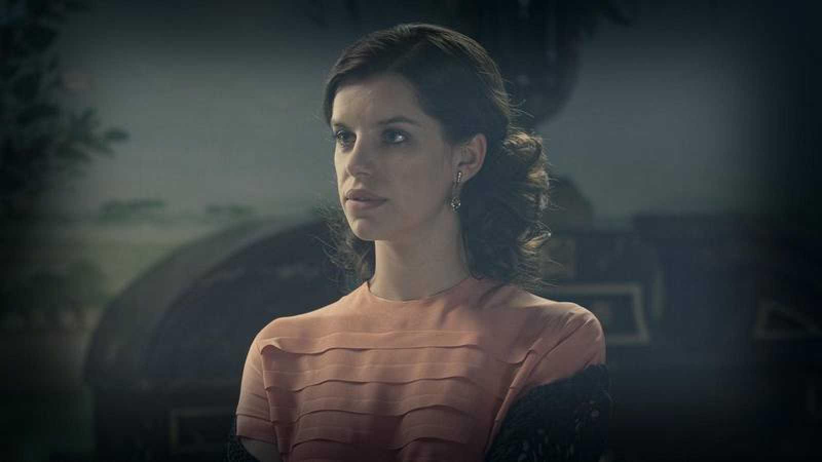 Mercedes Leon interpretada por Mariona Ribas