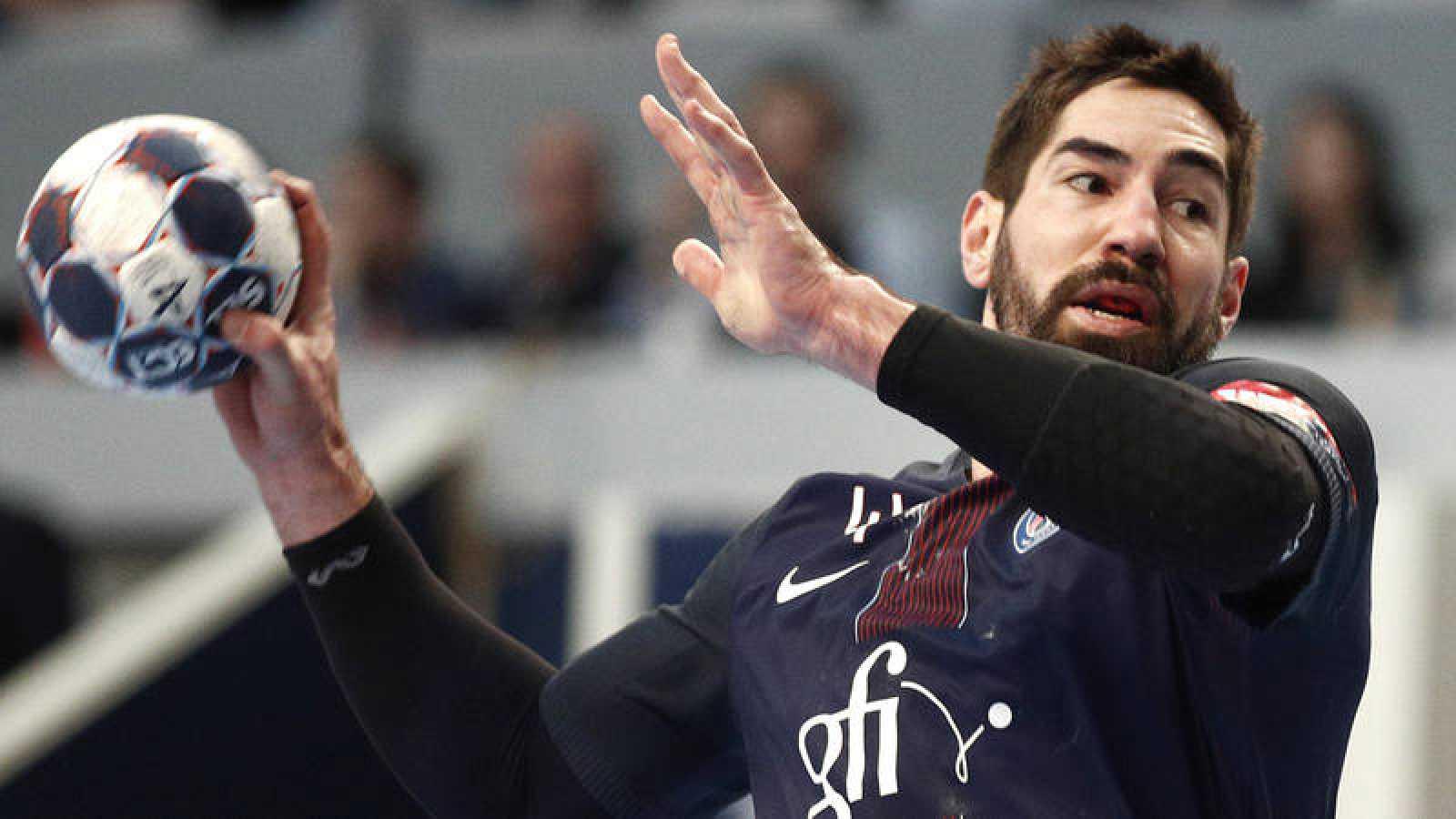 El jugador del PSG francés Nikola Karabatic.