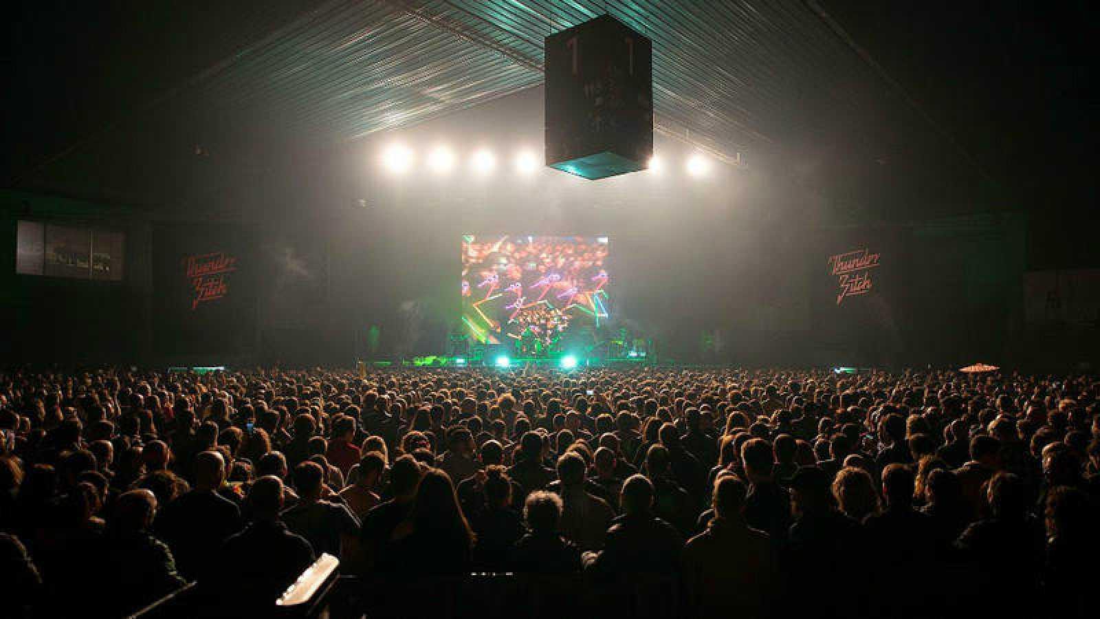 Imagen general del público en la jornada de sábado de BIME Live