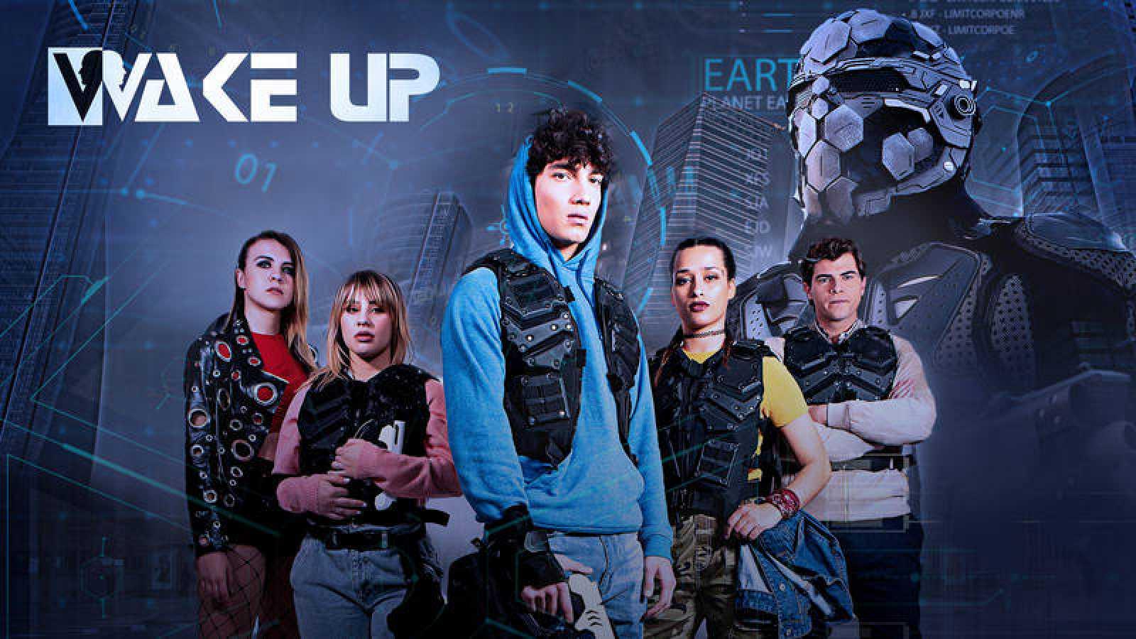 Jorge López, Lucía Gil, Diego Domínguez, Andrea Guasch y Chanel Terrero protagonizan 'Wake Up'