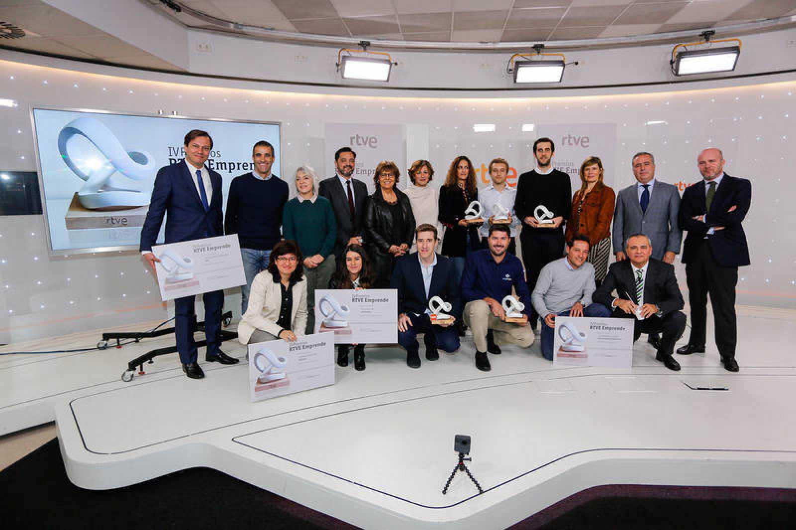 Ganadores y finalistas IV edición Premios Emprende