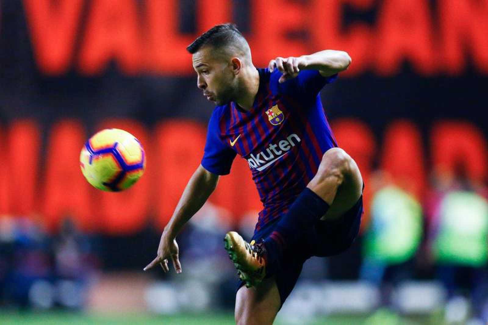 Jordi Alba está en un gran momento de forma con el Barcelona.