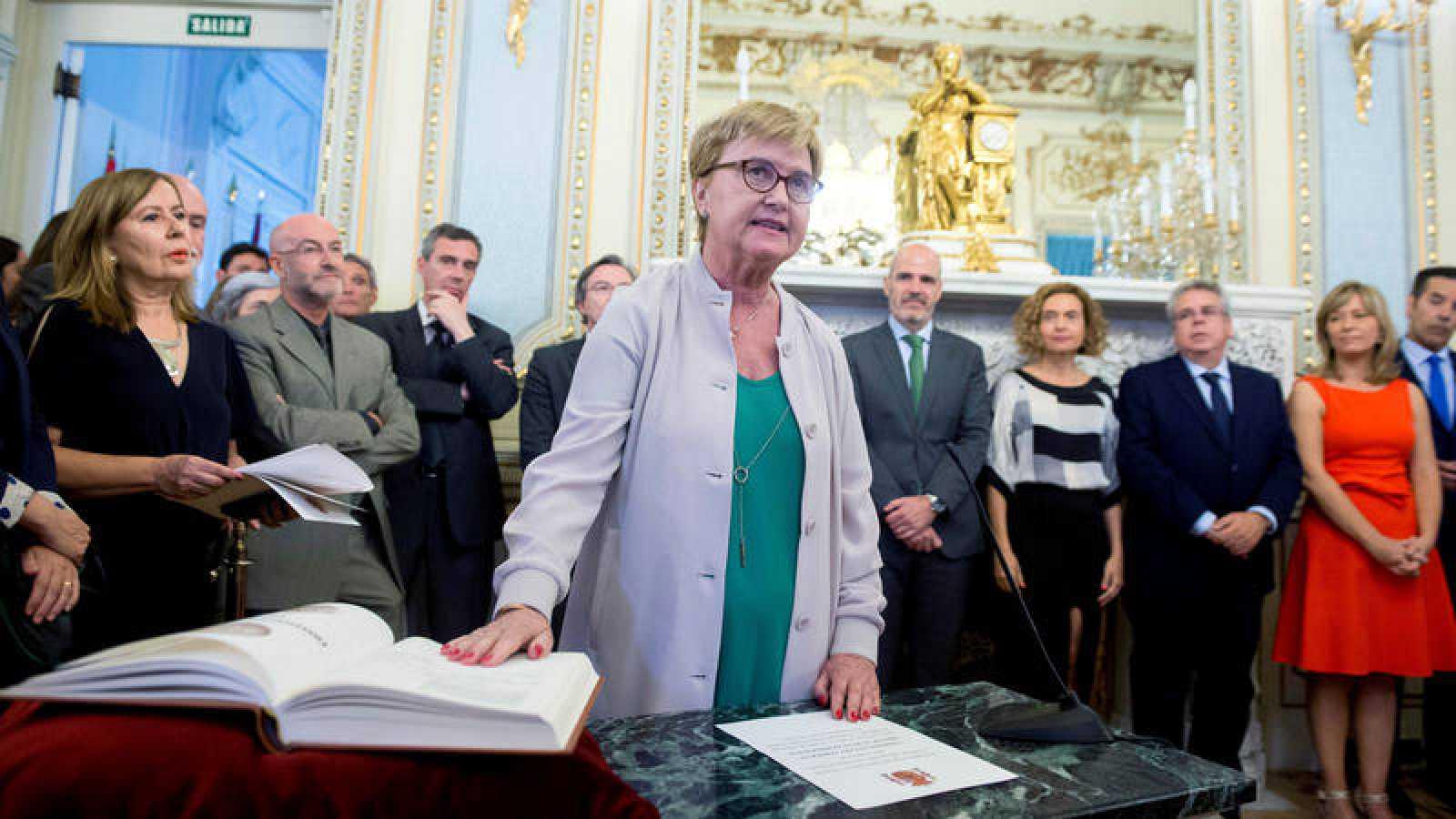 Isaura Leal tomó posesión como comisionada del Gobierno para el Reto Demográfico el pasado mes de julio