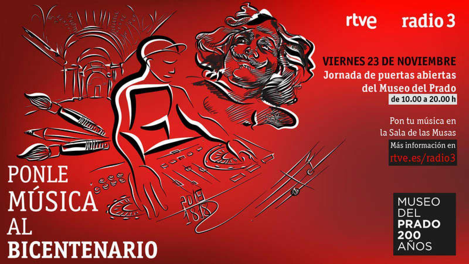 El viernes 23 tú puedes ser un Dj en el Museo del Prado
