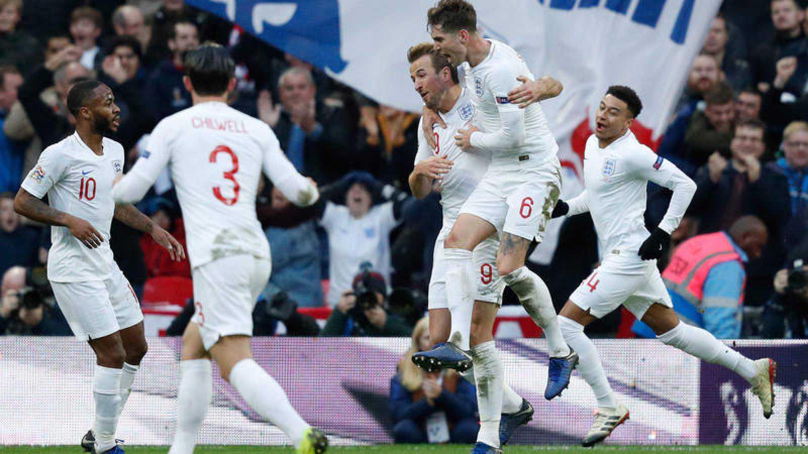 El gol de Kane ha metido a Inglaterra en la Final Four y ha dejado a España fuera.