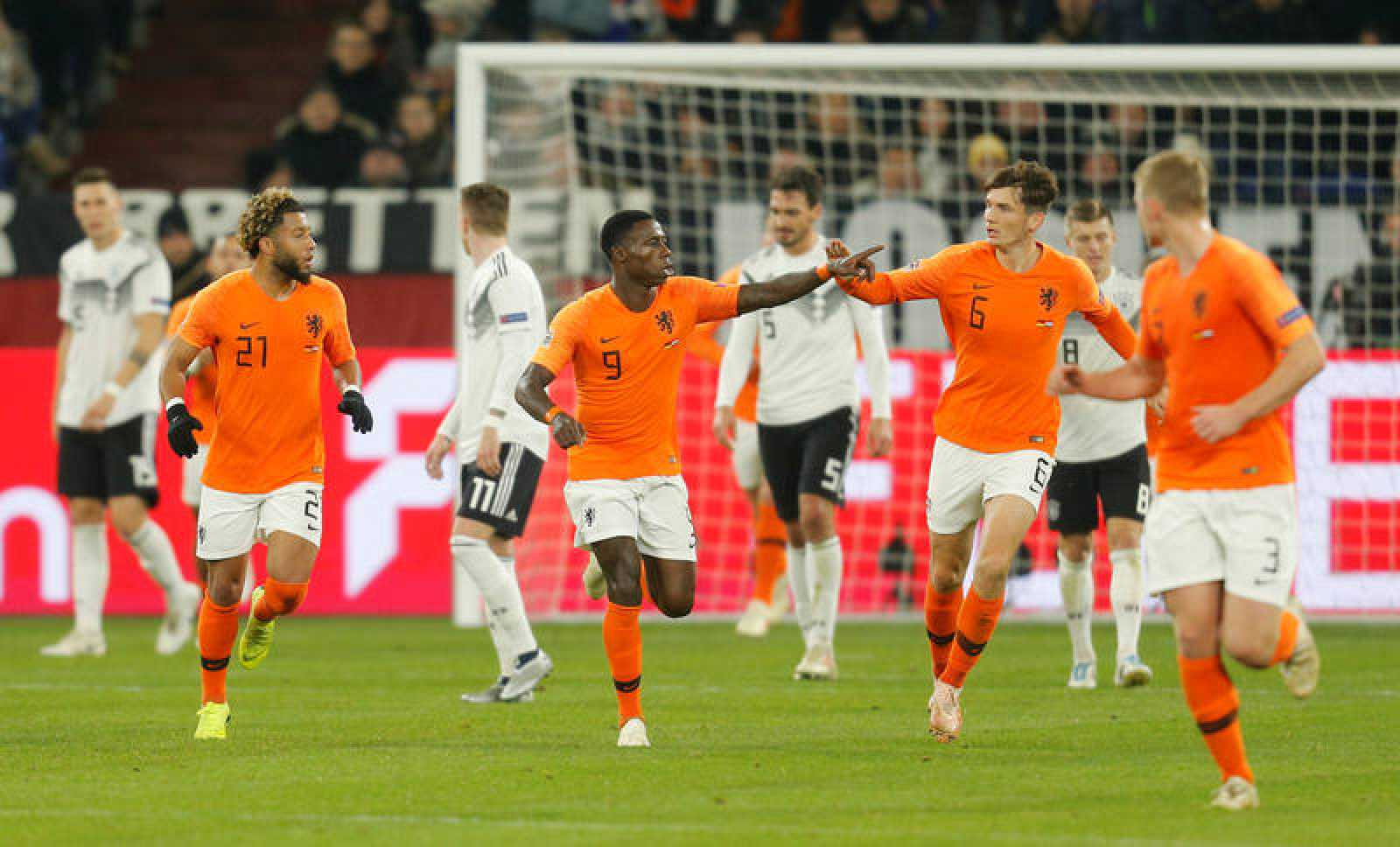 Holanda ha logrado el pase a la final a cuatro de la Liga de las Naciones.