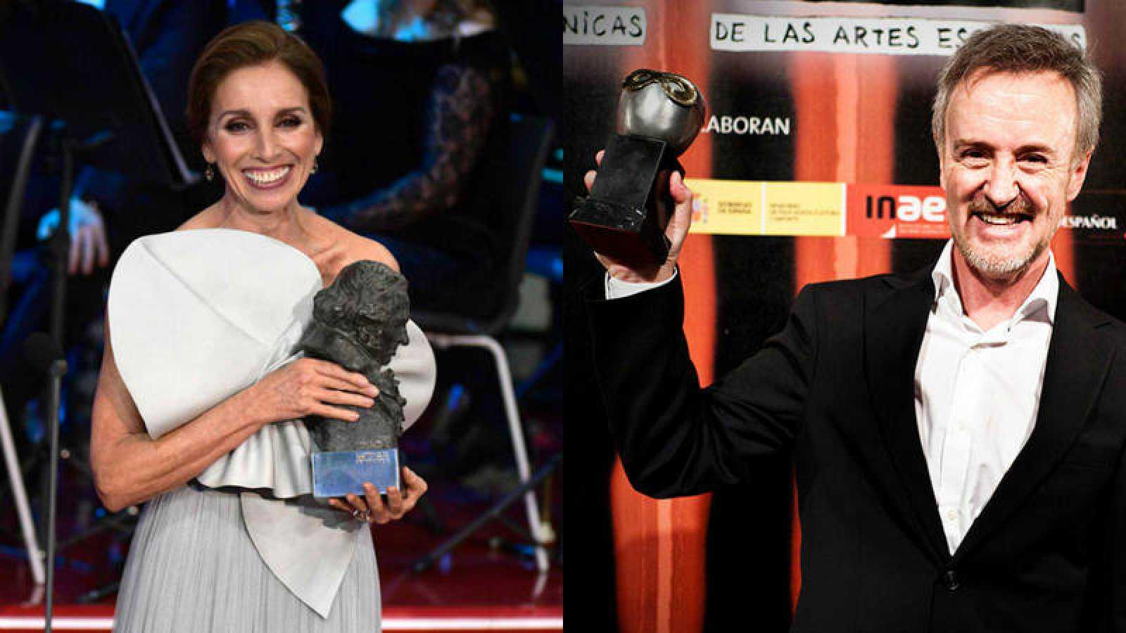 Ana Belén y Carlos Hipólito