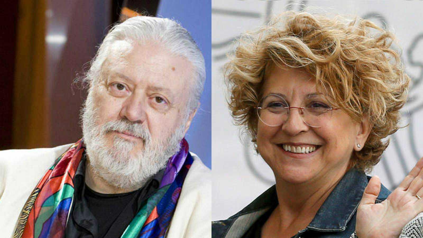 Mario Gas y Esther García