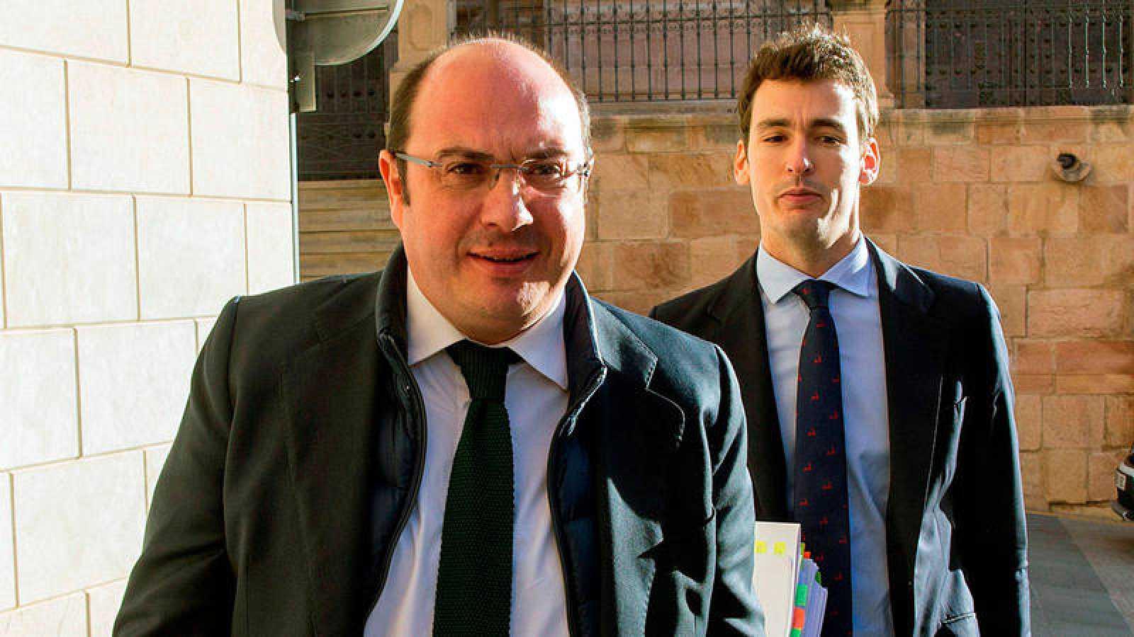 Pedro Antonio Sánchez, expresidente de la Región de Murcia, en una imagen de archivo