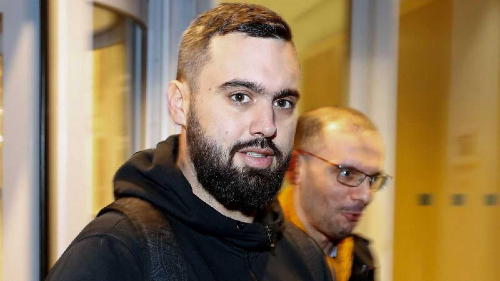 """Éric Drouet, camionero francés de 33 años y uno de los impulsores de los """"chalecos amarillos"""""""