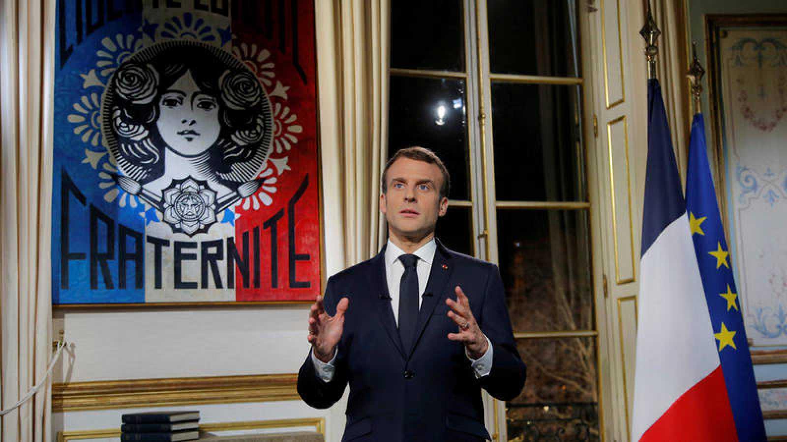 Macron en el Elíseo