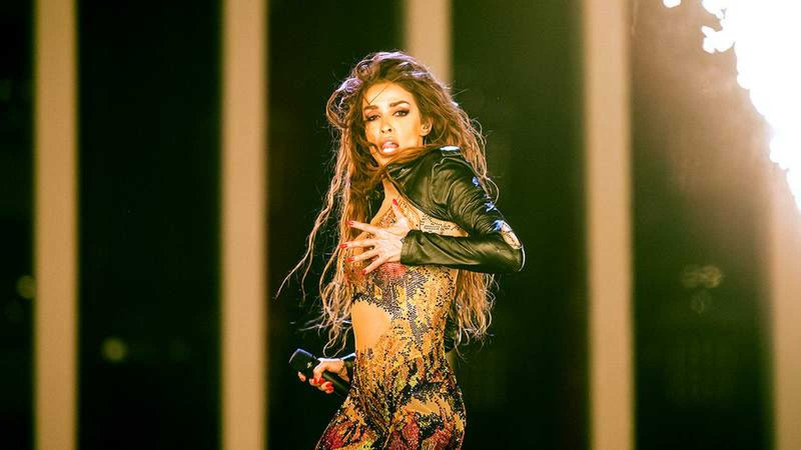 Eleni Foureira, artista invitada en la gala OT Eurovisión del 20 de enero