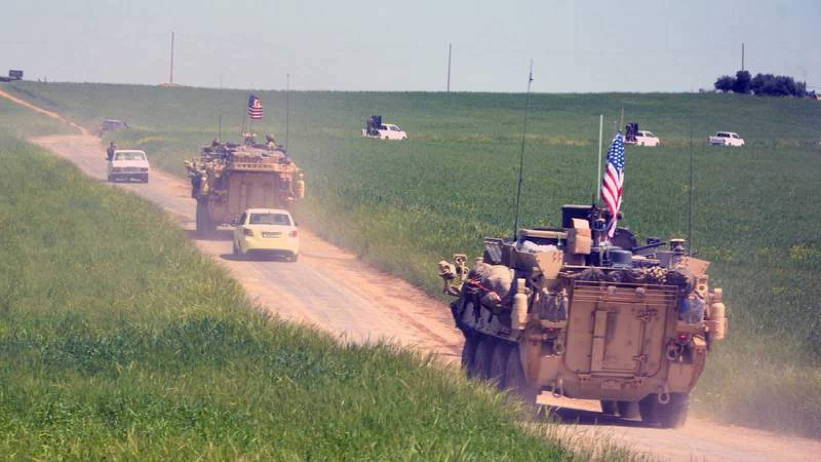 EEUU inicia la retirada de sus tropas en Siria