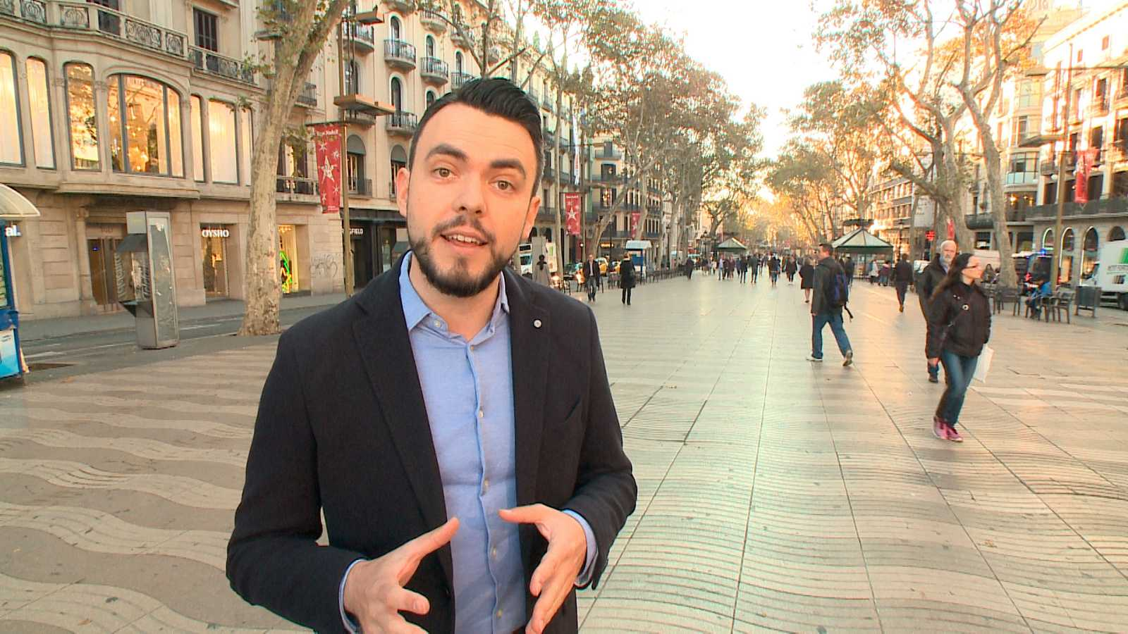 L'actor i novel·lista Rubèn Muntañà presentador de 'Carrarius'